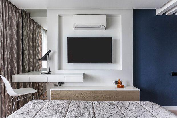 Архитектор Мила Титова сумела найти в типовой квартире новые возможности за счет рациональной перепланировки и использования авторской мебели, изготовленной на заказ