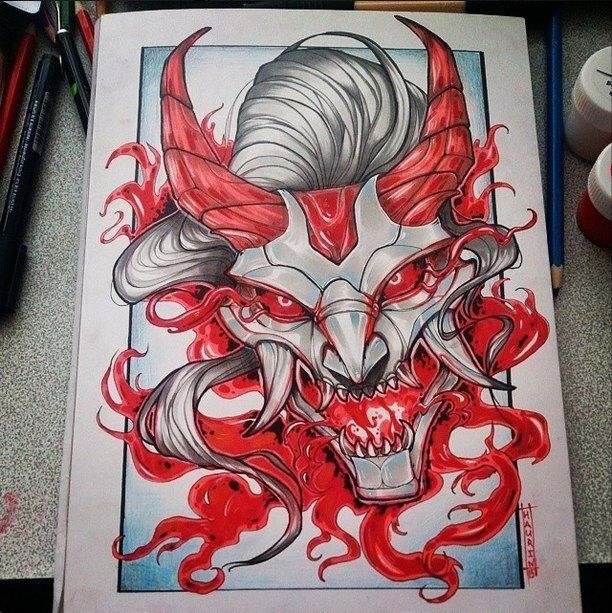 438 best images about hannya oni tattoo on pinterest back pieces samurai and oriental. Black Bedroom Furniture Sets. Home Design Ideas