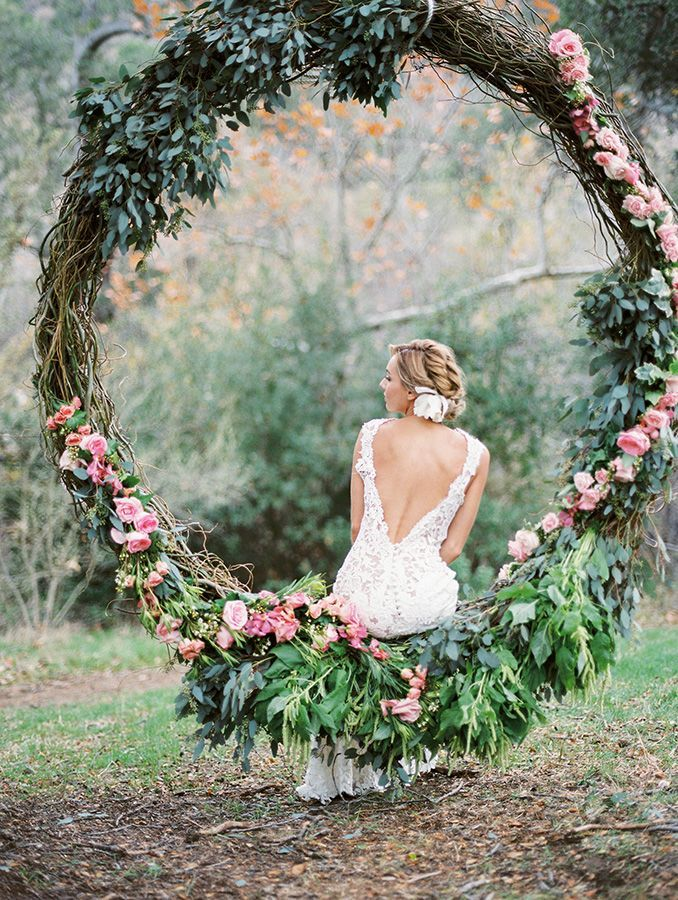 "Spring wedding ideas with a touch of bohemian style captures our attention. A lovely dose of ""Seasonal Goddess"" inspiration to welcome spring's renewal."