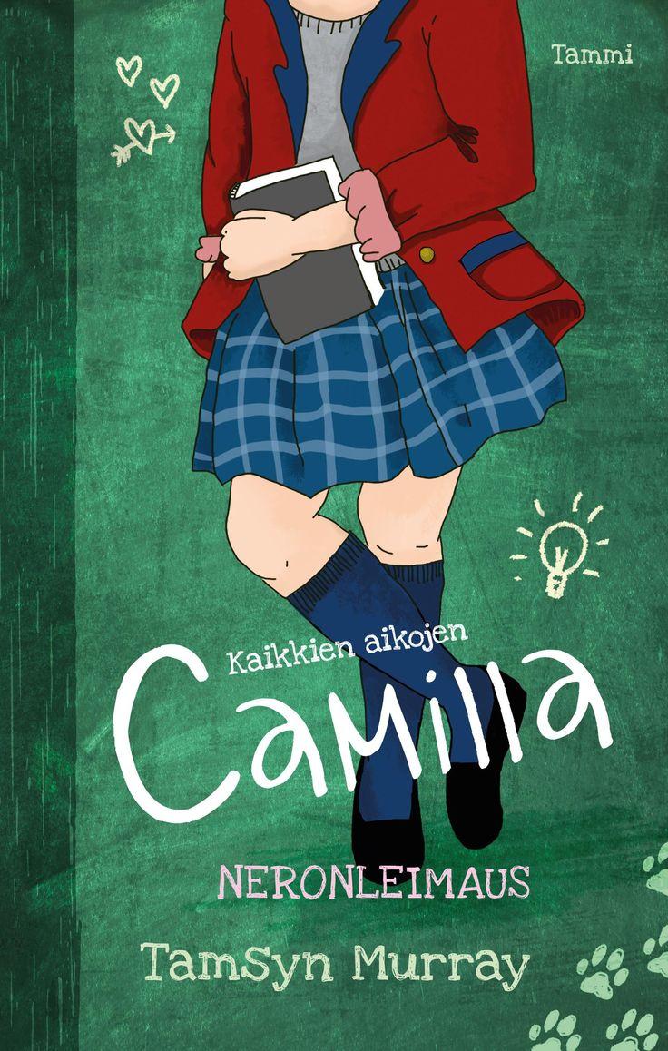 Verraton Camilla pistää tuulemaanNaurunpurskahduksia on luvassa, kun Camilla koheltaa koulumaailmassa. Kuka vain voi olla nero, jopa tietämättään!Camillan mielestä hänen elämänsä on täysi vitsi. Isä on niin nolo, äiti odottaa vauvaa ja oma veli on luuseri.  Ei ihme, että Camilla on kuin näkymätön perheessään – ja myös muualla. Ajatuskin ekasta päivästä uudessa koulussa kauhistuttaa.Kun koulussa järjestetään iso testi, Camilla nappaa parhaat pisteet. Hän on huippulahjakas nero! Voiko näinkin…