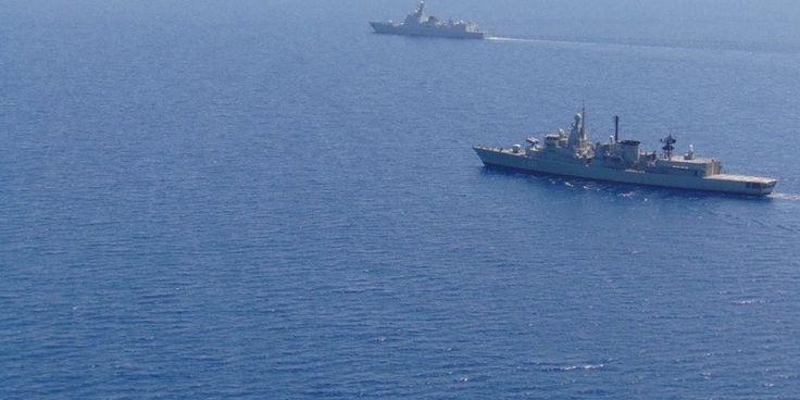 Πρωτοφανές: Κοινές ασκήσεις Πολεμικού Ναυτικού με το κινεζικό Ναυτικό στο Αιγαίο δίπλα στα τουρκικά πολεμικά!