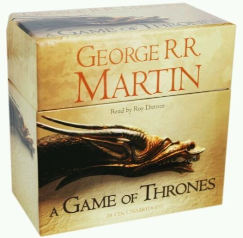 A game of #thrones #audiobook a song of ice and fire (book 1) #george r.r. martin,  View more on the LINK: http://www.zeppy.io/product/gb/2/121799823185/