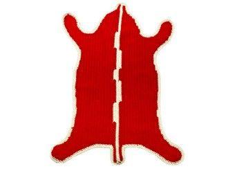 prachtig crochet beer tapijt small Anne-Claire Petit | kinderen-shop Kleine Zebra
