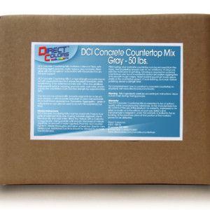 Concrete countertop mix!
