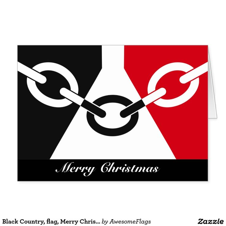 Black Country, flag, Merry Christmas