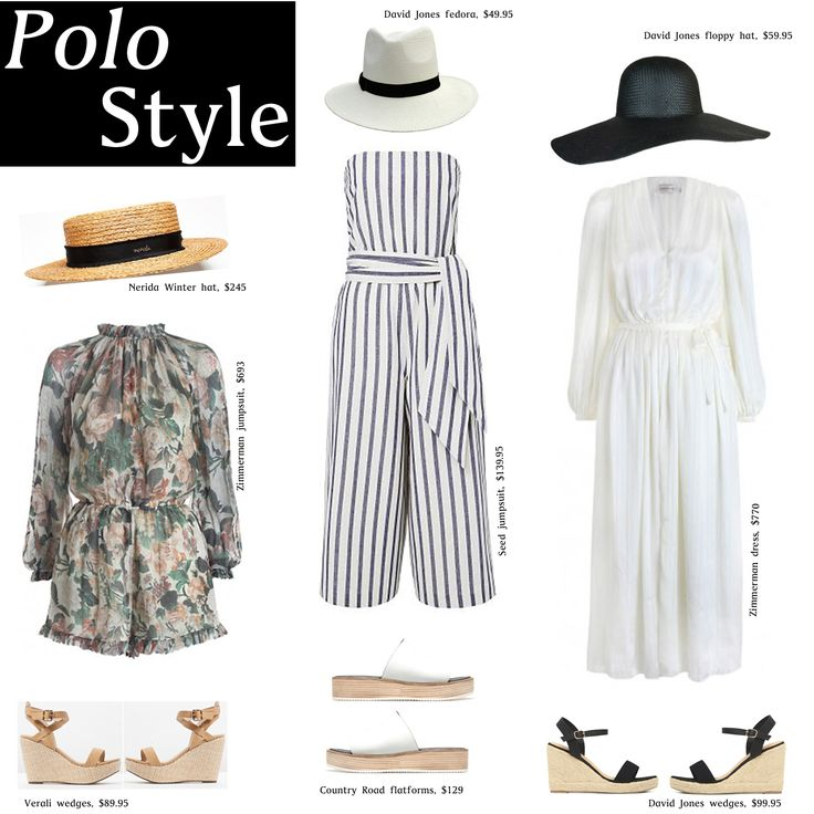 How to dress for the Polo this summer, find out at What Would Karl Do   http://whatwouldkarldo.com/how-to-dress-for-the-polo/