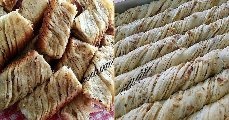 Merhaba sevgili takipçilerimiz, bugün sizlere cevizli bir börek tarifi veriyoruz. Burma börek tarifi bol tereyağ ve ceviz ile lezzet bulacak ve herkesin beğenisini kazanacak. Çayın yanına