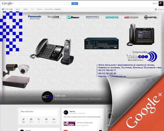 Google+ Page for Corporacion Telecoe de Venezuela