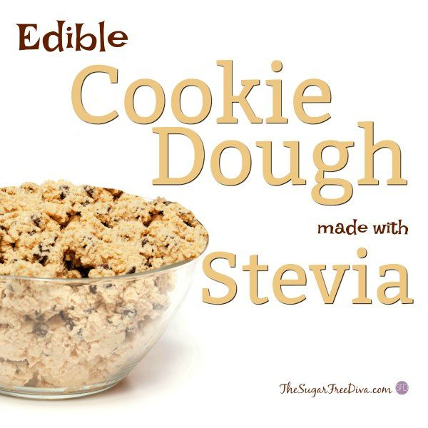 how to make edible cookie dough without milk