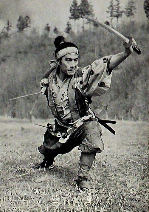 三船 敏郎 TOSHIRO MIFUNE / MIYAMOTO MUSASHI (dir: Hiroshi Inagaki, 1954, 1955, 1956)