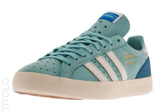size 40 3edec 634a4 adidas Originals Basket Profi Lo OG - Clear Green - Ecru - SneakerNews.com   Shoes  Adidas, Adidas originals, Adidas shoes
