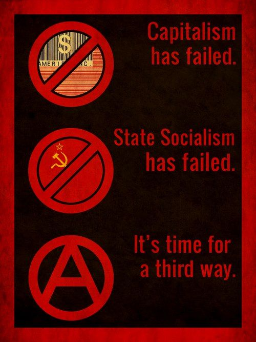 Capitalism has failed. State Socialism has failed. It's time for a third way.