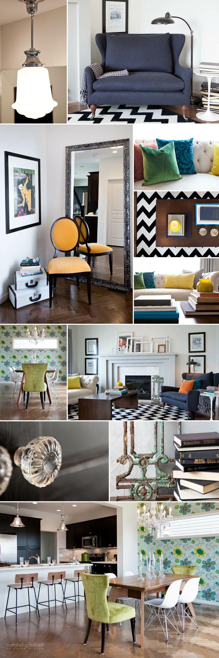 New Vintage Interior by Calgary Interior Designer