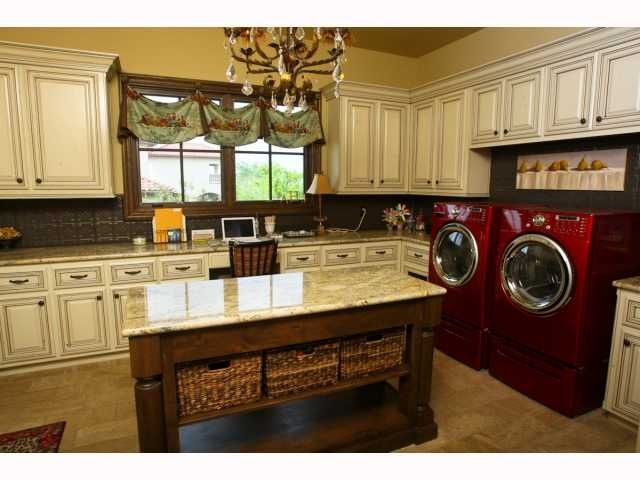 Upscale laundry room art studio office combo omg this for Laundry room office