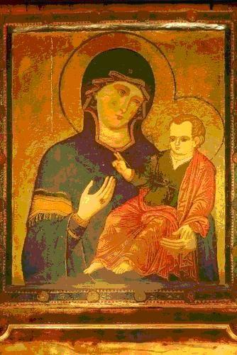 """S.Maria del Popolo Icona della """"Madonna del Popolo"""""""