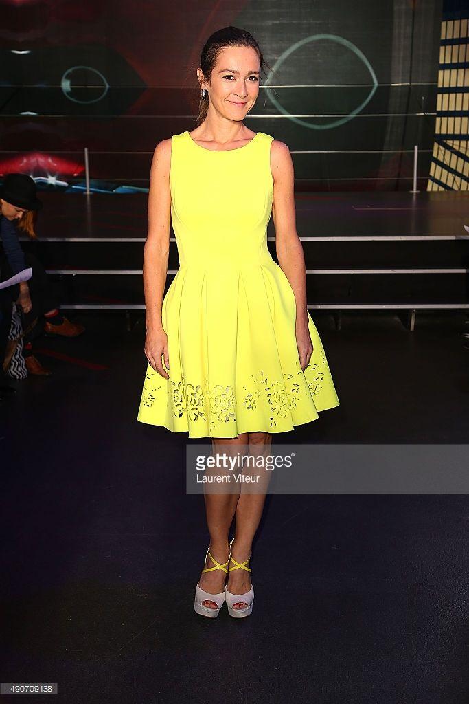 Photo d'actualité : Actress Emmanuelle Boidron attends the Christophe...
