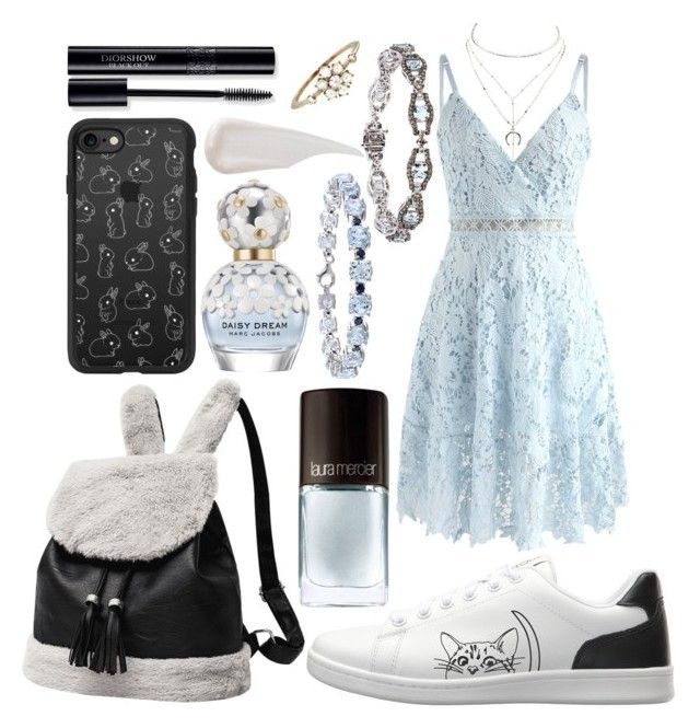 """""""outfit"""" by kwharmony on Polyvore featuring Charlotte Russe, Chicwish, Kataoka, ED Ellen DeGeneres, Casetify, Miadora, LE VIAN, Marc Jacobs and Dolce&Gabbana"""