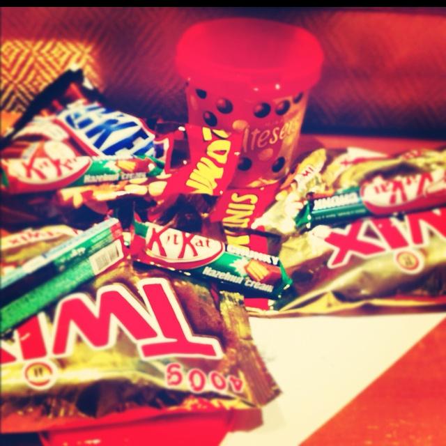 Midnight snacks...