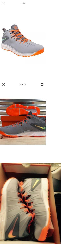 Footwear 159154: Nike Men S Huarache 4 Lax Turf Le Lacrosse Football Shoes Sz 11 Grey 653476 008 -> BUY IT NOW ONLY: $59.99 on eBay!