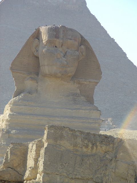 Sphinx, Egypt (UNESCO World Heritage Site @ Memphis and its Necropolis site)