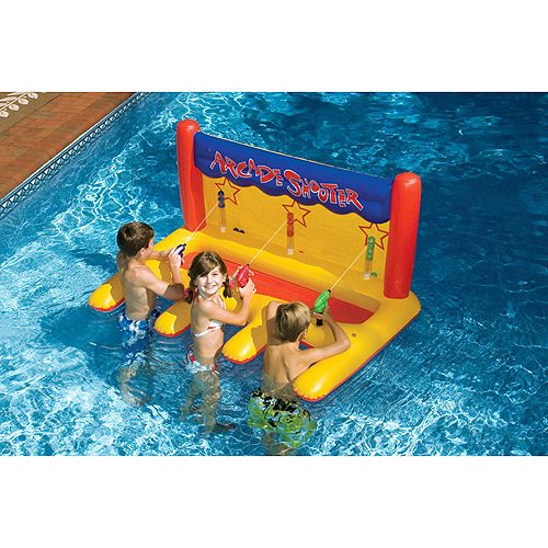 Arcade Shooter Inflatable Pool Toy Walmart Toys And Pool Toys