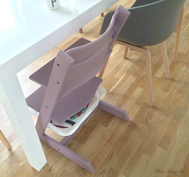 """SIRLIG HERLIGHEDER: TRIPP TRAPP + IKEA """"HACK"""" / genial opbevaring til stolen"""