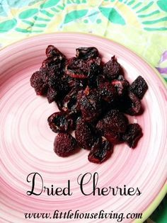 How to make your own dried cherries