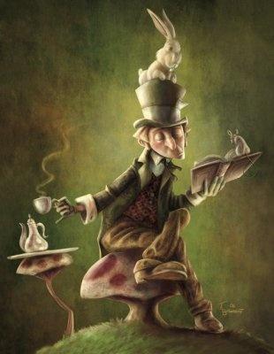 """La gente vede la follia nella mia colorata vivacità e non riesce a vedere la pazzia nella sua noiosa normalità! (The Hatter, Il Cappellaio Matto, nel film """"Alice in Wonderland"""")"""
