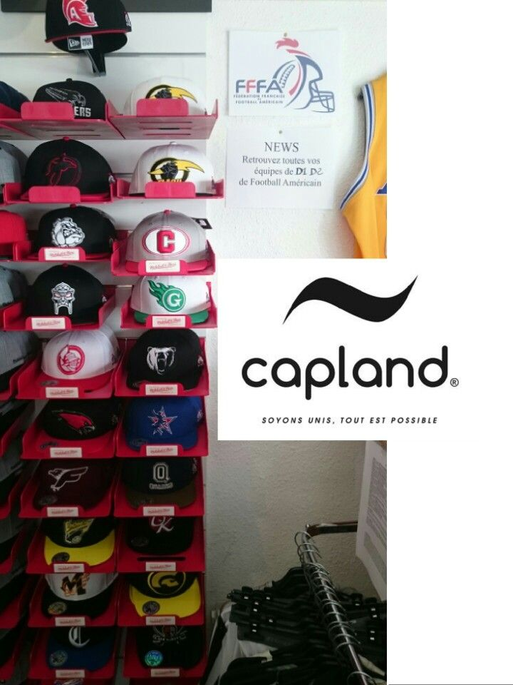 Vos casquettes capland des équipes de football américain du championnat français D1 et D2 sont disponibles sur www.sportlandamerican.com  #sportland #capland #aigles #argonautes #canoniers #corsaires #dauphins #dockers #falcons #flashs #giants #gladiateurs #météores #molosses #ours #quarks #spartiats #blackpanthers #ironmask #centurions #centaures #chevaliers #fffa #footballamericain #footus