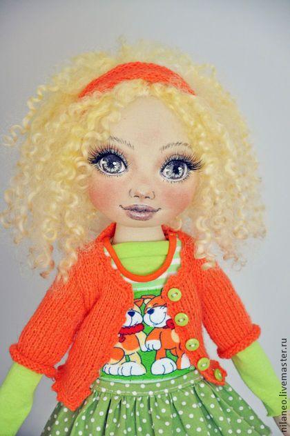 Коллекционные куклы ручной работы: Златка. Handmade.