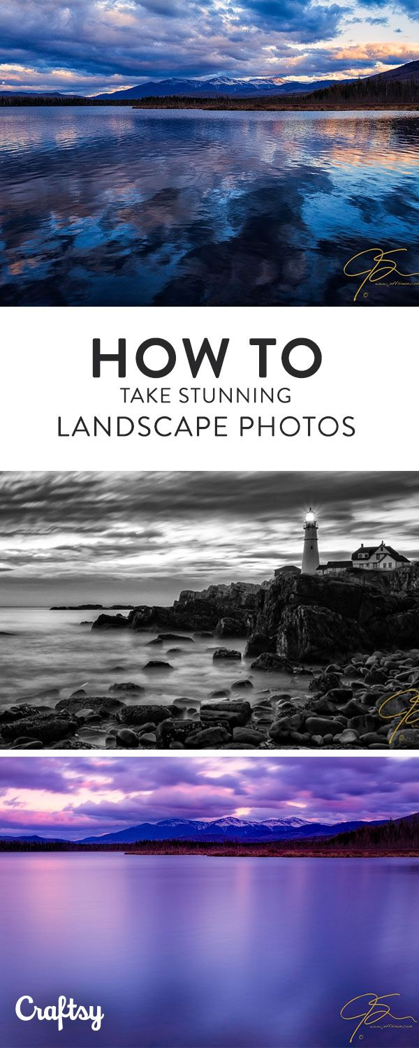 This change in shutter speed can take your landscape photos from dramatic and exciting to surreal and dreamy.