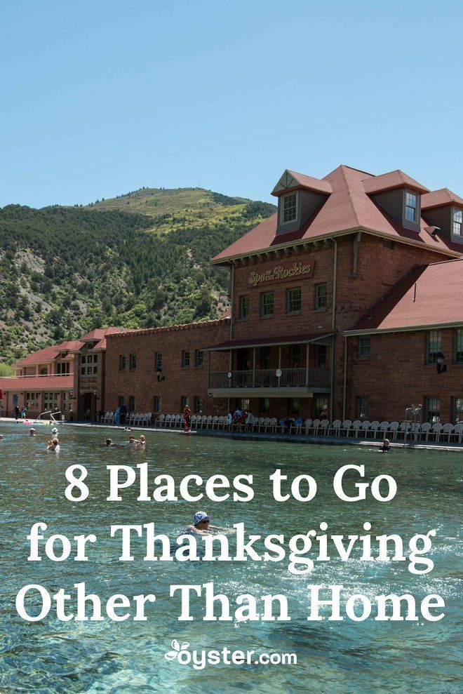 If you're not in the mood to head home for Thanksgiving, consider taking one of these domestic trips -- with or without your family.