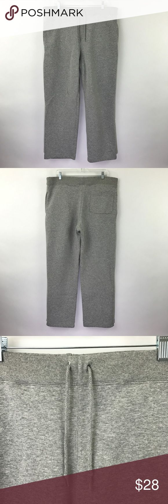 """Timberland men's gray sweatpants loose fit M21 Timberland Sweatpants Athletic Loose Fit Heathered Gray Men's Size Medium  Measurements: Waist 18"""" Flat across (has a tie waist and some stretch) Inseam: 28"""" Long  In good preowned condition with light all over wear and minimal pilling. Timberland Pants Sweatpants & Joggers"""