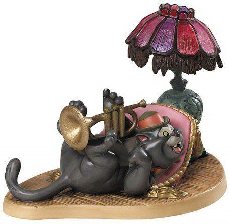 Enesco Walt Disney Classics **The Aristocats Scat Cat, Cool Cat **