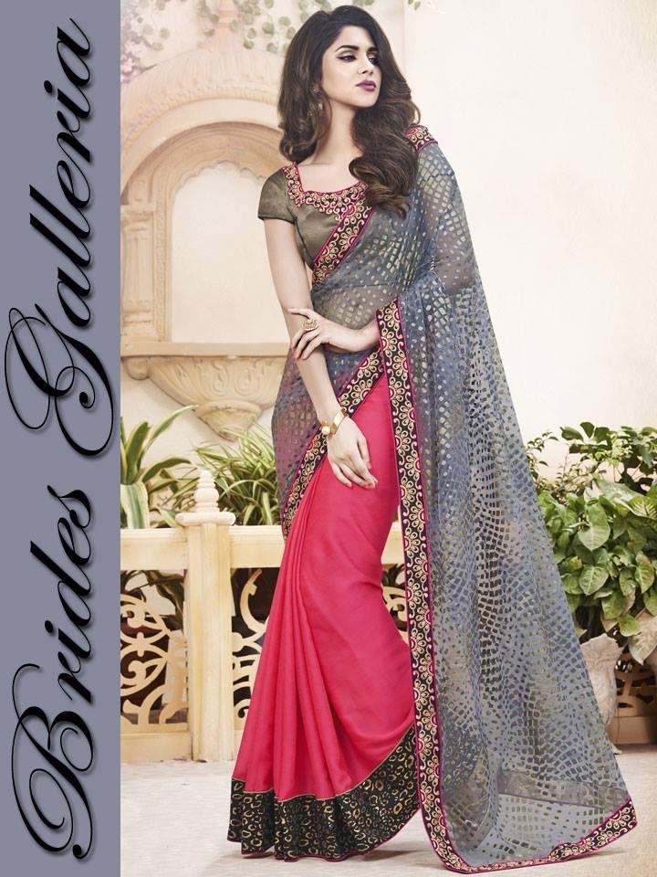 Brides Galleria Stylish Party Wear sarees 2016 (6)
