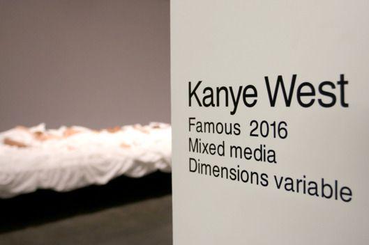Kanye's 'Famous' Music Video Now an Art Exhibit  -- Vulture