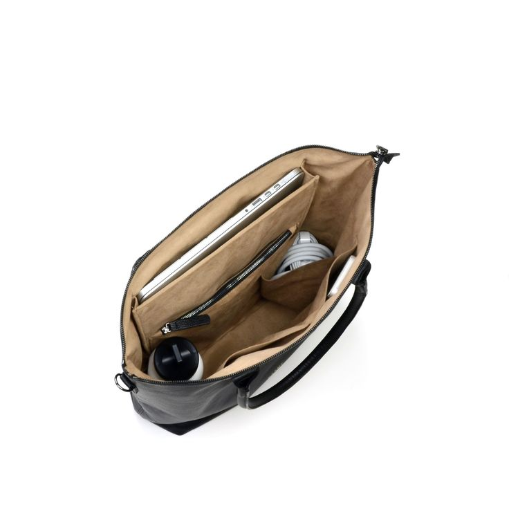 Womens laptop bag - Everest Black Interior | Daame
