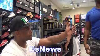 floyd mayweather shoes and big baby rips anthony joshua EsNews Boxing