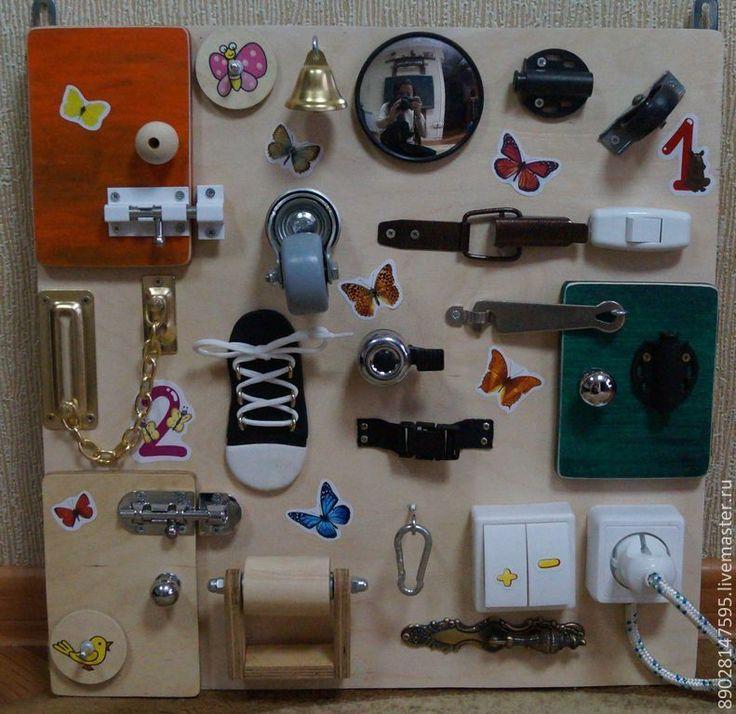 Купить БИЗИБОРД РАЗВИВАЮЩАЯ ДОСКА - развивающая игрушка, развитие мелкой моторики, развивающие игрушки