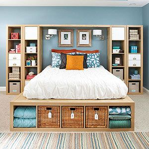 25 creative ideas for master bedroom storage