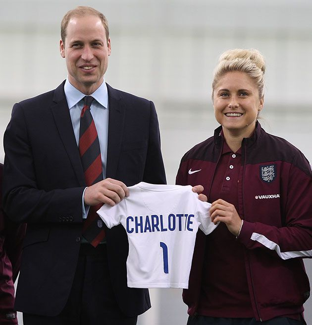 "Keeping her parents on their toes!  During a visit with members of the England women's soccer team the Lionesses ahead of the upcoming World Cup on June 6, Prince William revealed that he isn't getting much sleep thanks to newborn daughter.  Speaking of the encounter, captain of the team Steph Houghton, said: ""All the girls were asking how Princess Charlotte is and Prince George and whether they keep him up all night.  ""He was saying he's obviously really enjoying being a father and Princess…"
