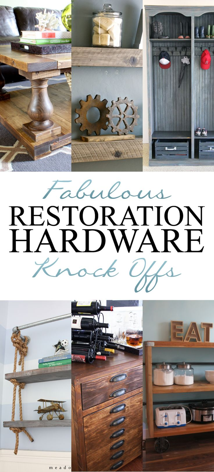 Fabulous Restoration Hardware Knock Offs The Cottage