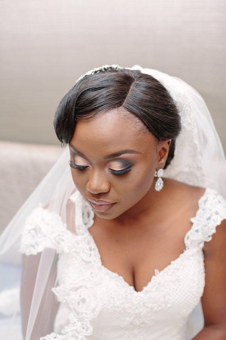 Elegant Gold Toronto Wedding - wedding makeup
