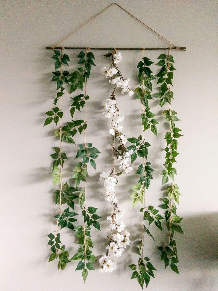 DIY Blumengirlande