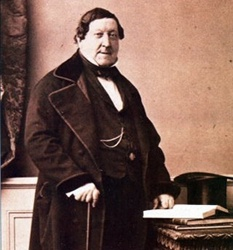 Gioachino Rossini 1792-1868 Composer who wrote 39 operas as well as sacred music, chamber music, songs, and instrumental and piano pieces