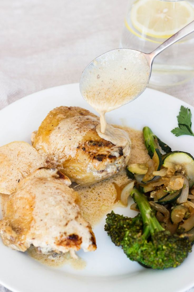 Creamy and Lemony Chicken Thighs - The Cookware Geek | The Cookware Geek