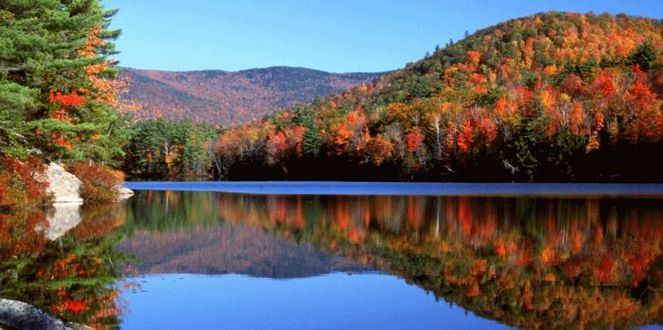 Fall foliage in the Lakes Region of New Hampshire - www.lakesregion.org