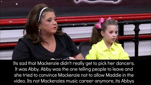 103 best images about dance moms mackenzie on pinterest - Dance moms confessions ...