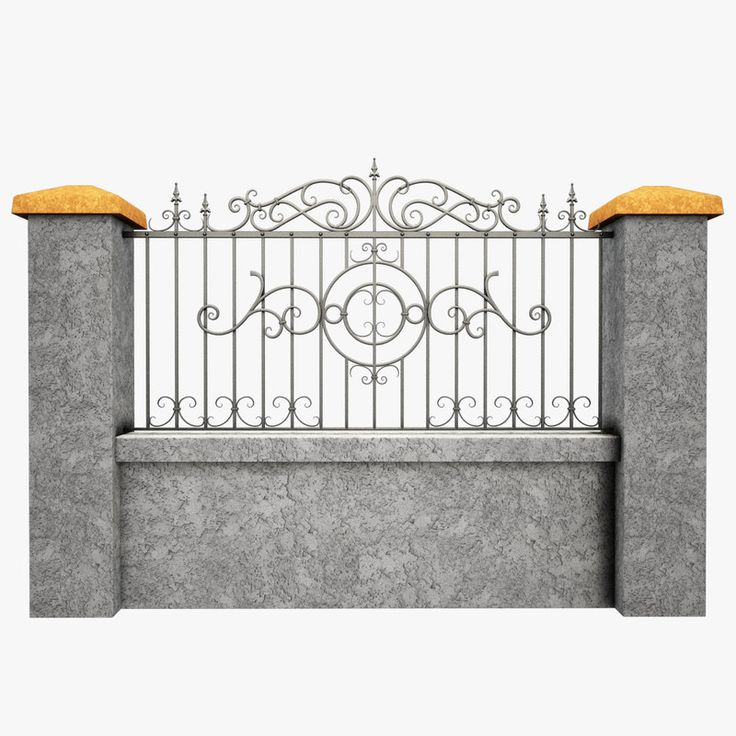 Max Wrought Iron Fence Metal Home Decor In 2019