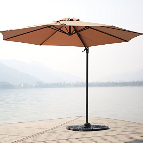 C-Hopetree 10 Delux Octagonal Offset Cantilever Patio Umbrella with Aluminium Frame 360 Degree Rotation Variable Tilt Action PP Olefin Canopy and Storage Cover Tan Canopy Review https://patioumbrellasusa.info/c-hopetree-10-delux-octagonal-offset-cantilever-patio-umbrella-with-aluminium-frame-360-degree-rotation-variable-tilt-action-pp-olefin-canopy-and-storage-cover-tan-canopy-review/